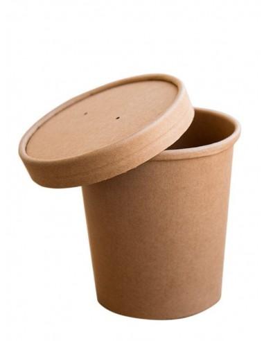 Pojemnik papierowy do zup KRAFT z...