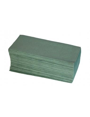 Ręcznik papierowe ZZ składane zielone...