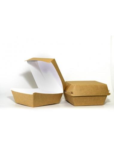 Pudełko papierowe na hamburgera...